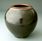Stoneware Vase - click to enlarge